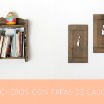 Percheros reciclados | DIY
