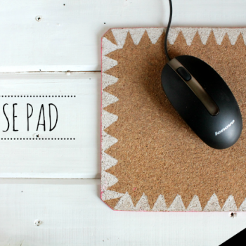 Mouse pad  { DIY }