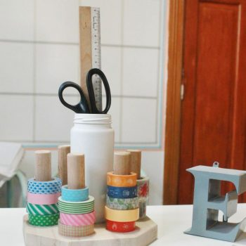 Organizando Washi tapes