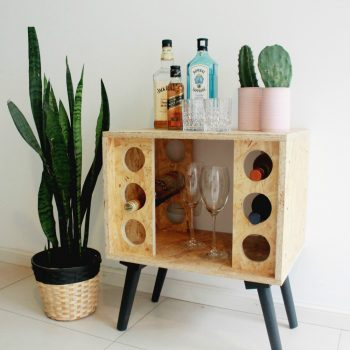 Workshop Mini Bar de OSB